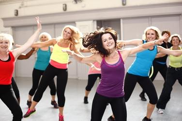 Lezione di ginnastica aerobica