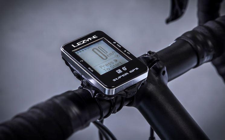 Ciclocomputer con GPS integrato