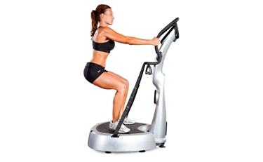 Allenamento fitness sulla pedana