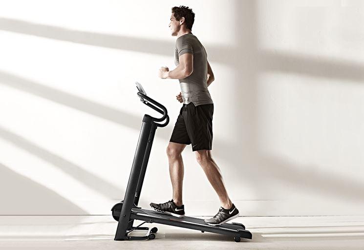 tapis roulant per allenamento