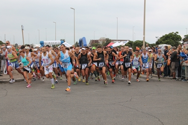 Corridori del triathlon sprint