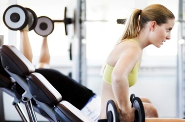 Esercizi con i pesi<p />