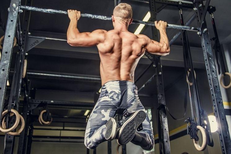 Esercizio trazione muscolare