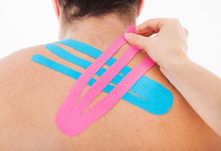 Sforzo muscolare taping