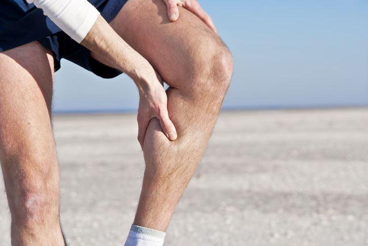 Una dolorosa contrattura muscolare