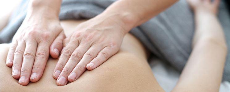 Massaggio tensione muscolare