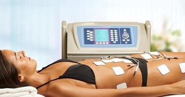 muscoli con elettrostimolazione muscolare