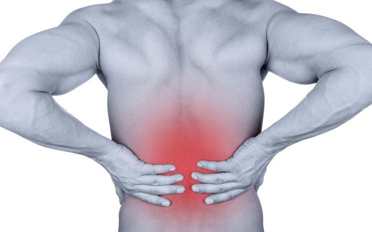 Contrattura muscolare alla schiena