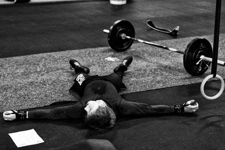 Affaticamento muscolare allenamento