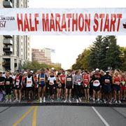 Inizio mezza maratona