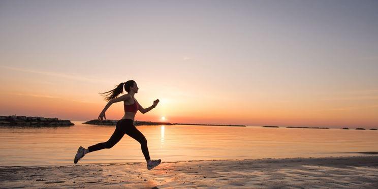 Runner allenamento