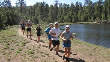Trail running di gruppo