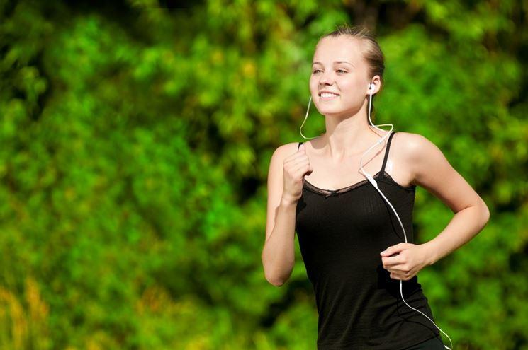 Correre ascoltando musica