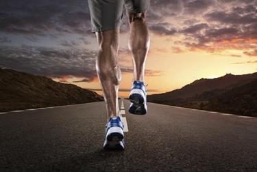 Muscoli tonici di un runner