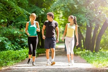 Alternare corsa e camminata