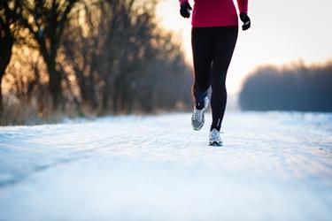 Gioia di correre anche in inverno