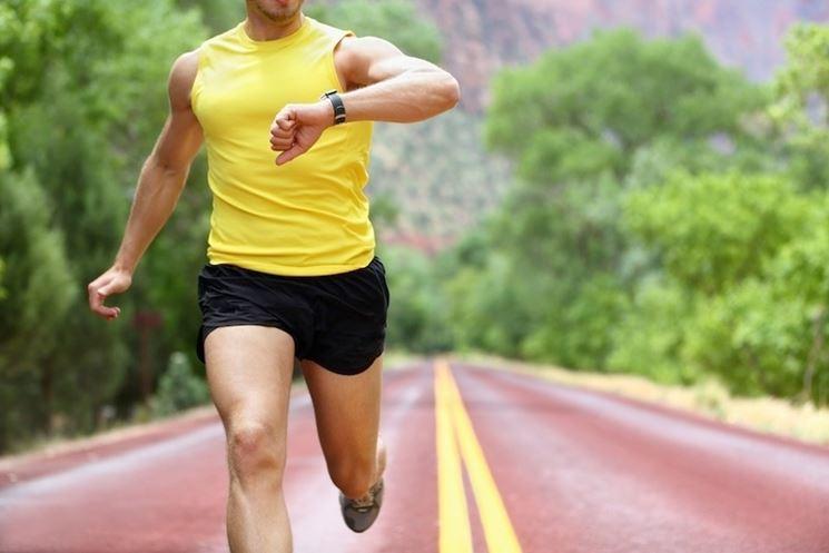 allenamento con cardiofrequenzimetro