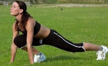 allungamento dei muscoli