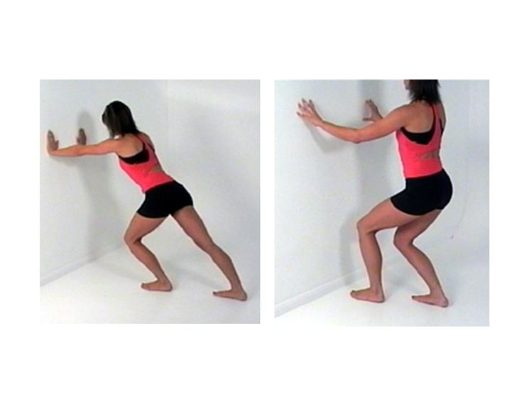 Stretching per il tendine d'achille