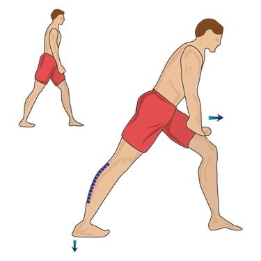Posizione corretta stretching<p />