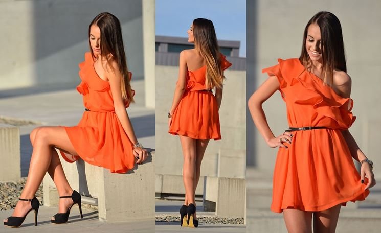 Un total look in arancione