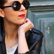 occhiali tondi da sole