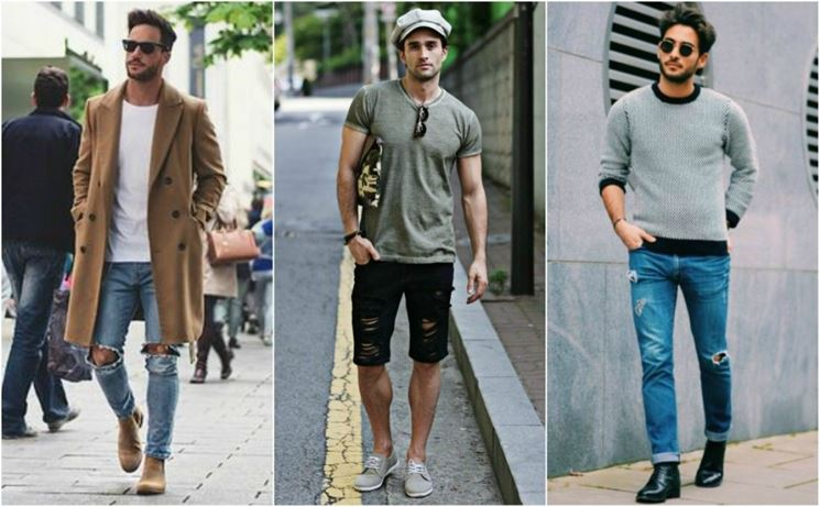 Come indossare dei jeans strappati