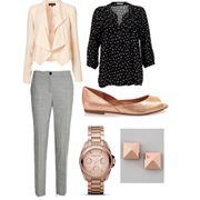 Outfit per donna a rettangolo