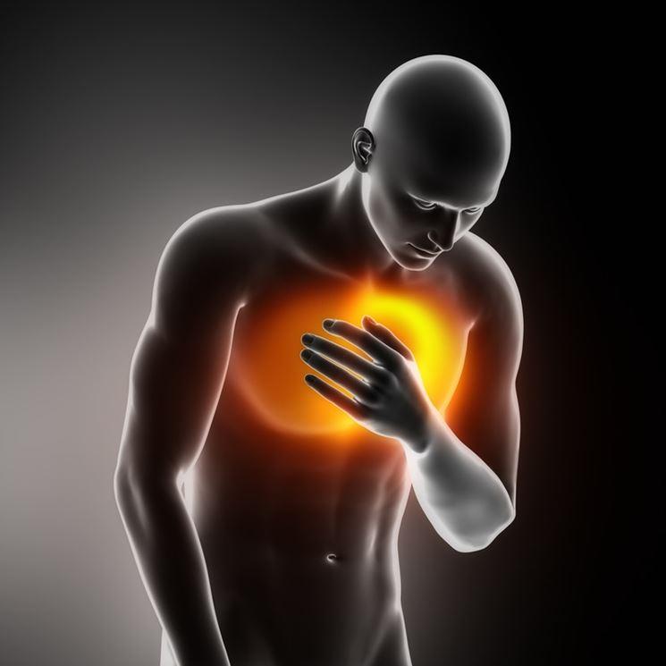 Dolore al petto causato da soffio al cuore