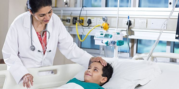 Bambino ospedale