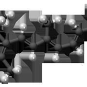 Molecola tridimensionale dell'isotretinoina