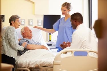 Assistenza ad un paziente allettato<p />