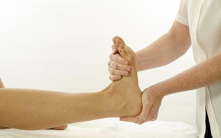Visita ortopedica piede