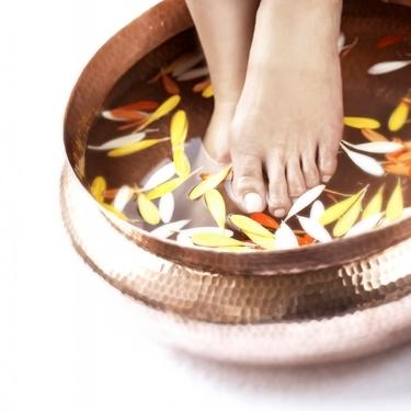 pediluvio per il dolore ai piedi