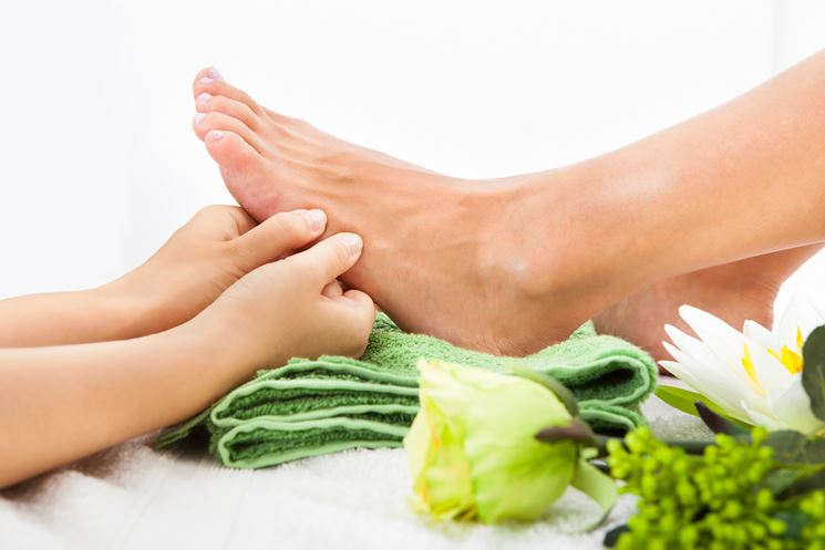 Alleviare dolori piede