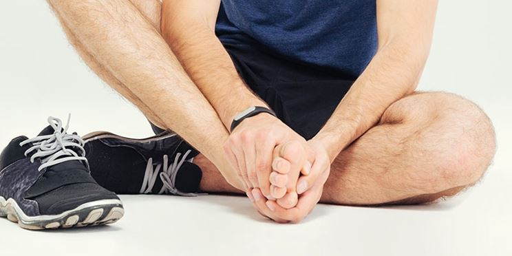 Stretching piede