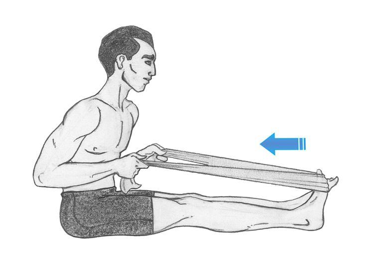 Ginnastica muscolo gamba