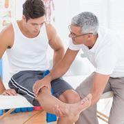 Visita ortopedica al ginocchio