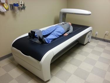 Paziente sottoposto ad una MOC