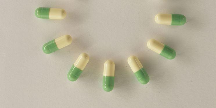Capsule prozac