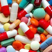 Pillole di farmaci antidepressivi