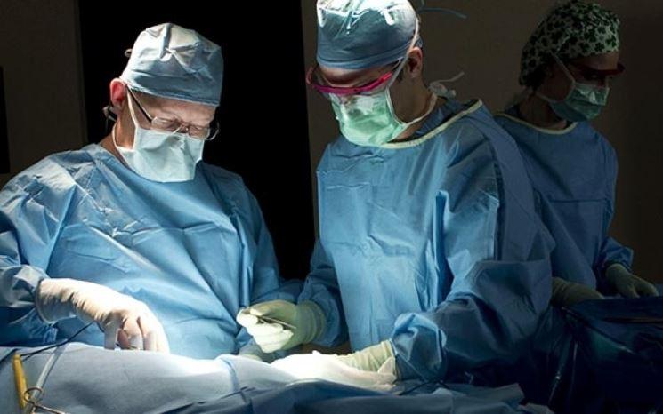 Intervento chirurgico al femore
