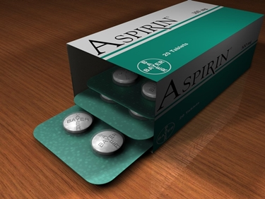 Una confezione di Aspirina