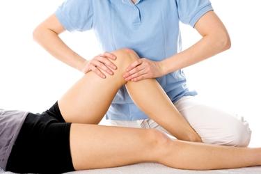 Esercizi di fisioterapia del ginocchio