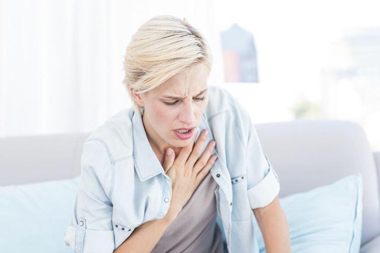 La dispnea, uno dei sintomi della pleurite