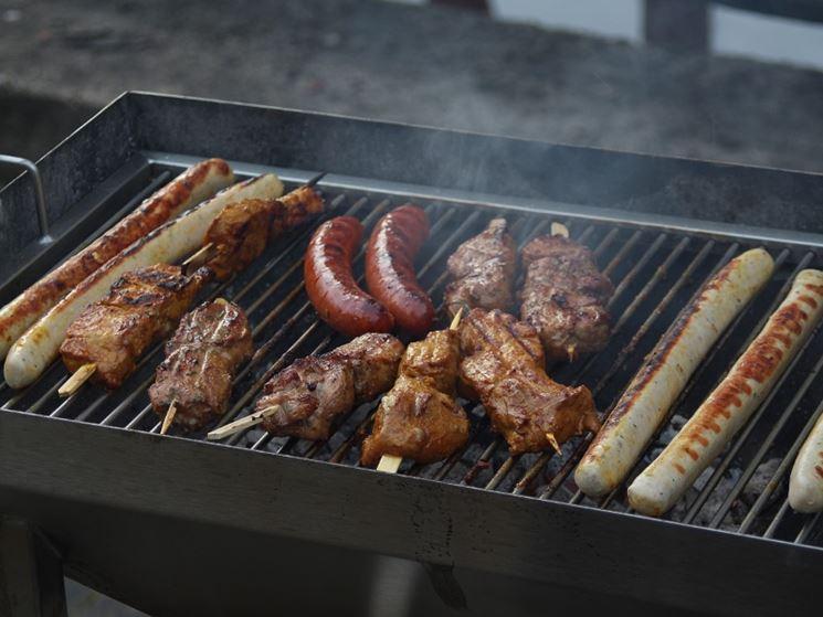 Cottura di carne alla griglia