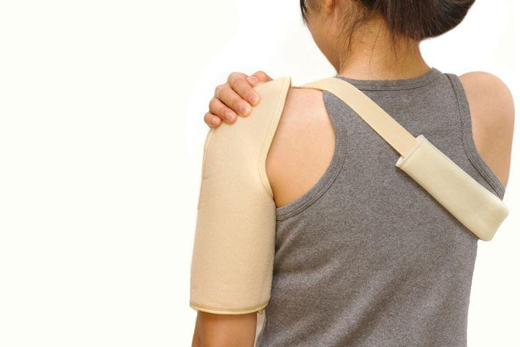 sostegno per lussazione spalla