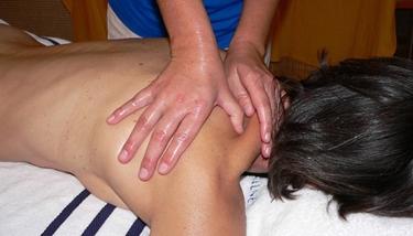 Massaggio della spalla