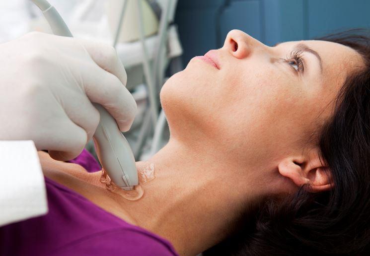 Esame della tiroide