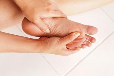 Massaggio al piede